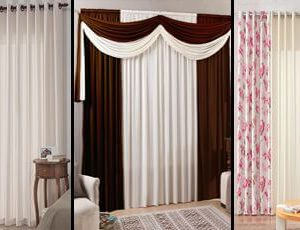 Imagem cortinas para sala