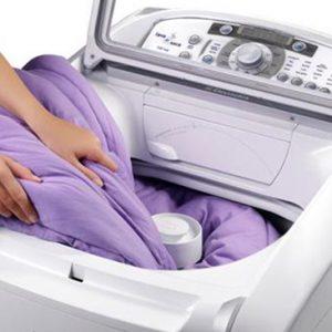 quando lavar o cobertor