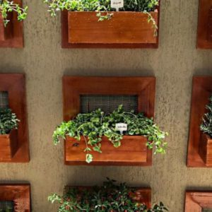 como fazer jardim na varanda