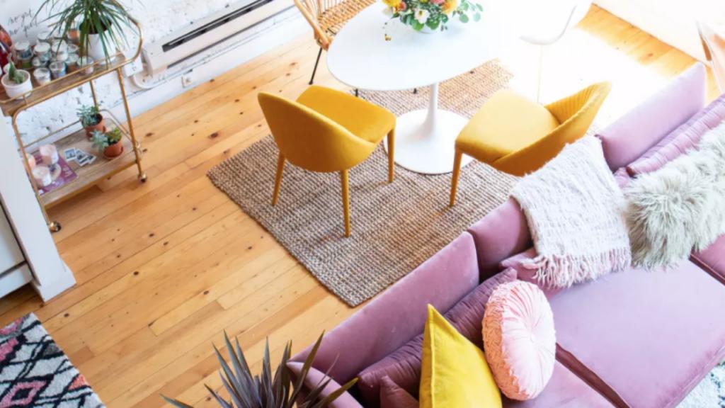 decoração para aumentar o espaço da casa