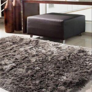 tapete peludo para sala de estar