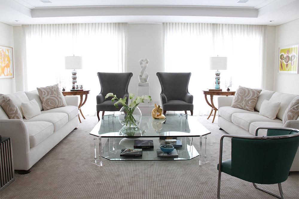 imagem de sala de estar