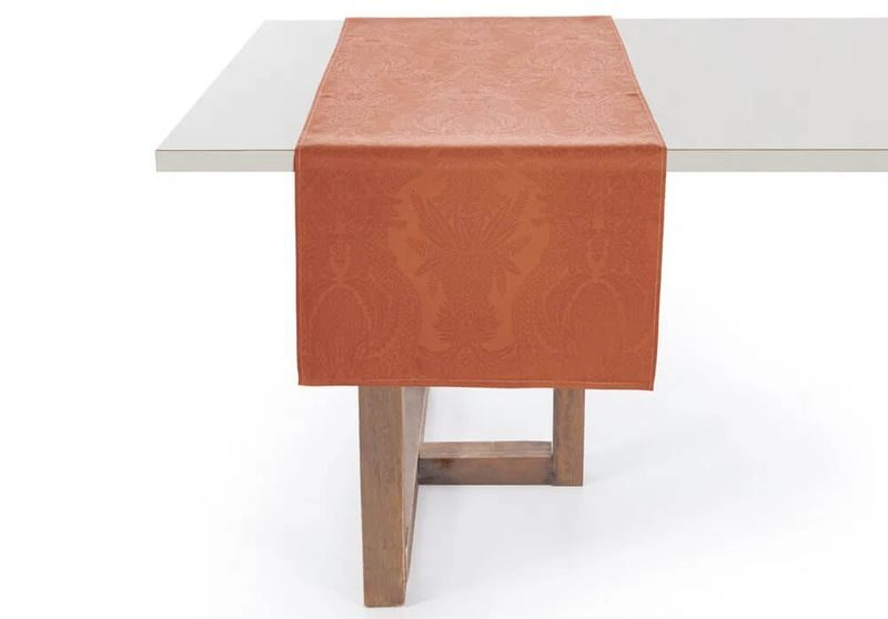 imagem trilho de mesa terracota